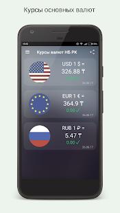 Курсы валют Казахстана - náhled