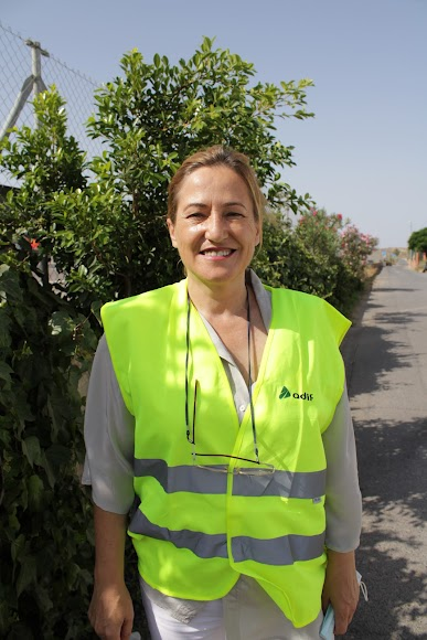 La alcaldesa de Níjar, Esperanza Pérez.