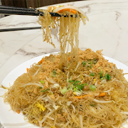 89. Fried Vermicelli with Minced Pork and Onion 香蔥肉鬆炒河口絲