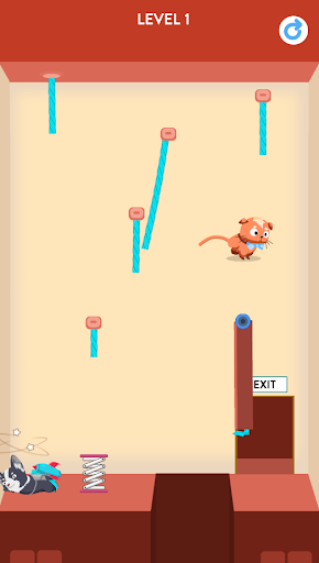 Rescue Kitten - Rope Puzzle apkmind screenshots 7