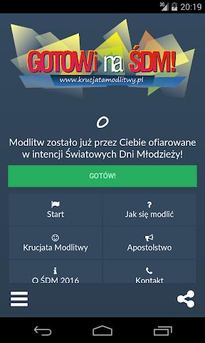 android Krucjata Modlitwy Screenshot 1