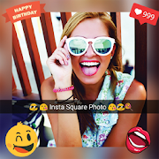 Insta Square Photo Stickers