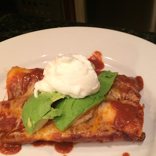 Gluten Free Chicken & Cheese Enchiladas!