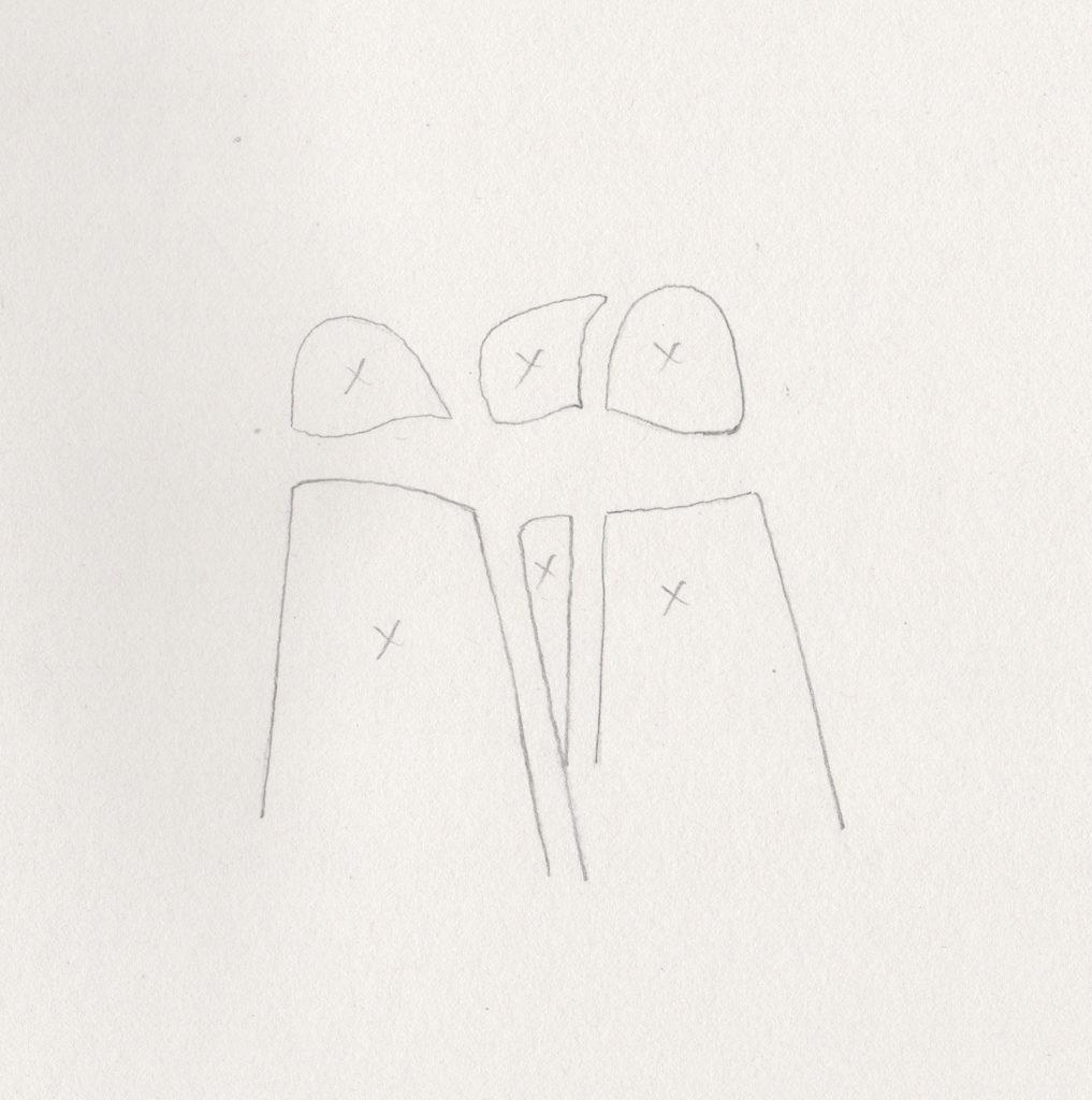 Vẽ ý tưởng cho người mới bắt đầu: vẽ không gian tiêu cực của Ruth Buchanan