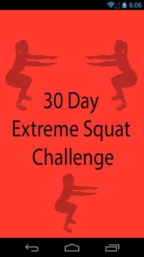 30 Day Extreme Squat Challenge