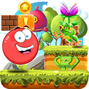 Super Red Ball: Red Ball in the Jungle Adventures APK Descargar