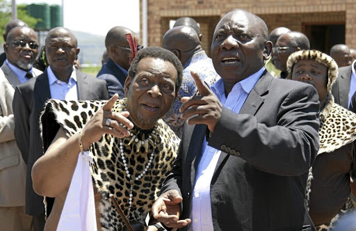 President Cyril Ramaphosa should have underscored to Zulu King Goodwill Zwelithini that his authority is subject to constitutional processes, says the writer. / KHAYA NGWENYA