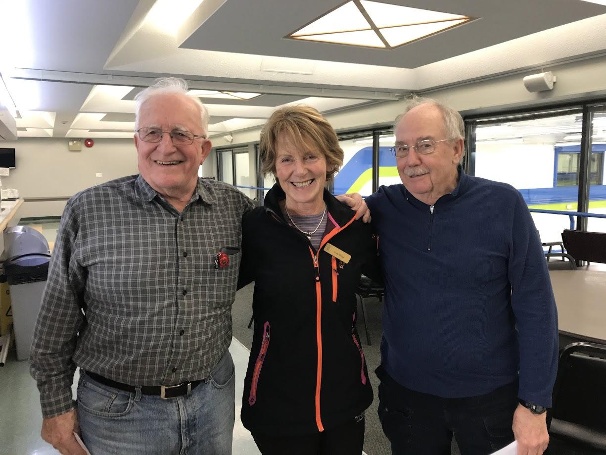 Hal, Linda, Dave