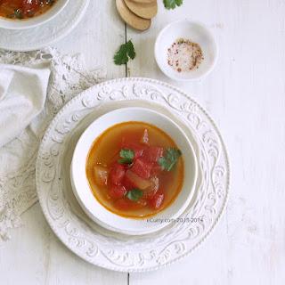Lightly Spiced Stewed Watermelon