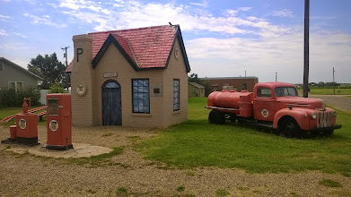 Photo: August 9-Here is another one of the Phillips 66 stations in McClean, TX.