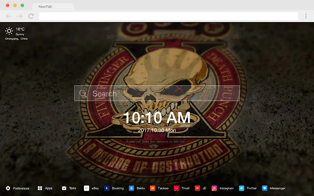 Five Finger Death Punch New Tab HD Themes