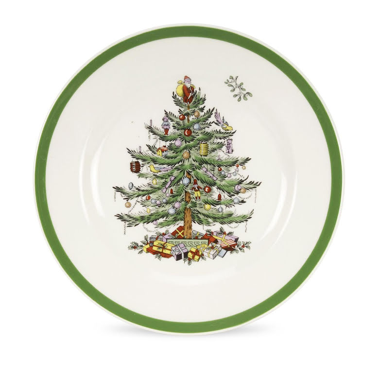 Christmas Tree Tallrik 20cm 4-pack