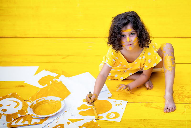 Piccola anima gialla di Barbara Surimi