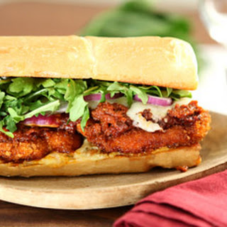 Chicken Parmesan Sandwich W/ Sundried Tomato & Basil Everything Spread Recipe