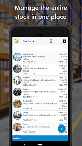 Storage Manager : Stock Tracker screenshot 1