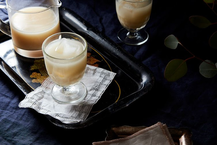 Rosemary Grapefruit Milk Punch Recipe