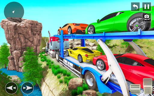 Real Truck Driving Simulator:Offroad Driving Game screenshots 4