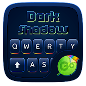 Dark Shadow GO Keyboard Theme