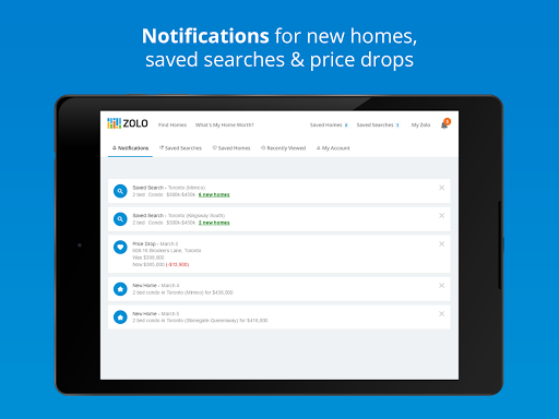 Real Estate in Canada by Zolo 1.4.8 Screenshots 10