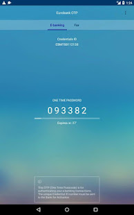 App EUROBANK OTP APK for Windows Phone