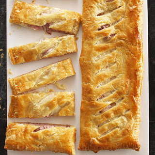 Ham and Cheese Slab Pies