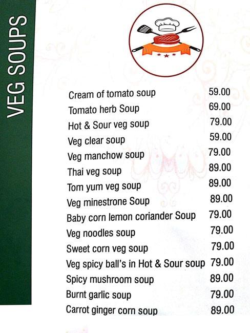 Chef's Kitchen menu 7
