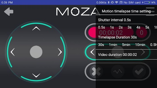 MOZA Assistant - náhled