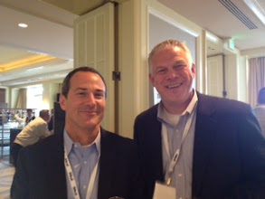 Photo: Senior Partners Mark Handron and Scott Jackson pictured at Sales 2.0 Conference in San Francisco this week — at Sales 2.0 Conference, San Francisco, April 2012.