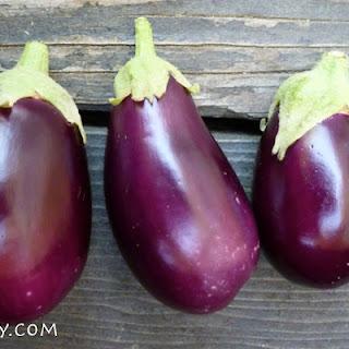 Oven Roasted Eggplant Ingredients