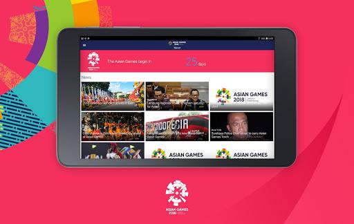18th Asian Games 2018 Official App 1.0.2 screenshots 8