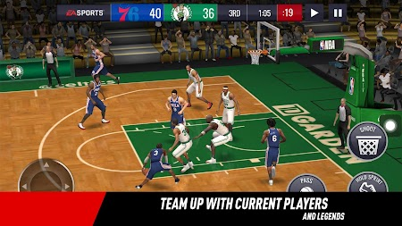 NBA LIVE Mobile Basketball APK screenshot thumbnail 3
