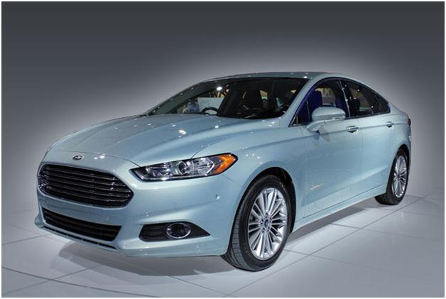 Photo: 2013 Ford Fusion is designed by Chris Hamilton