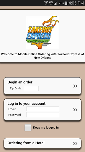 Takeout Express - New Orleans