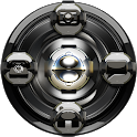 GO Locker Black Silver icon