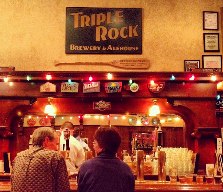 The 80s brewing sprit are alive and well at Triple Rock.  Photo: Jon Page.