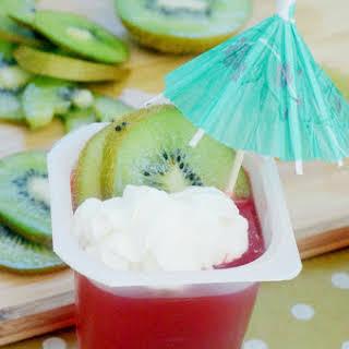 Strawberry Kiwi Summer Dessert.