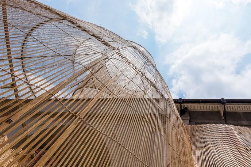 Una 'trampa de peces' gigante se ha añadido al Museo de Arte Contemporáneo de Taipei