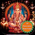 Ganesha Gif Photo Editor 2019 & Photo Frame 2019 icon