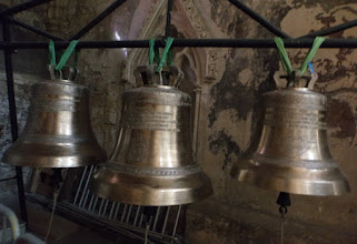 Photo: about 1000 years - restored BELLS in Aix en Provence