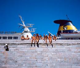 Photo: Bleu du ciel 3, Corse, 2001