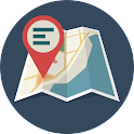 MapNote - Notes on the map icon