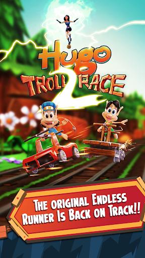 Hugo Troll Race 2: The Daring Rail Rush 2.0.3 screenshots 1