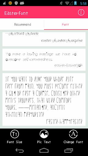 Free Font - Easter Font