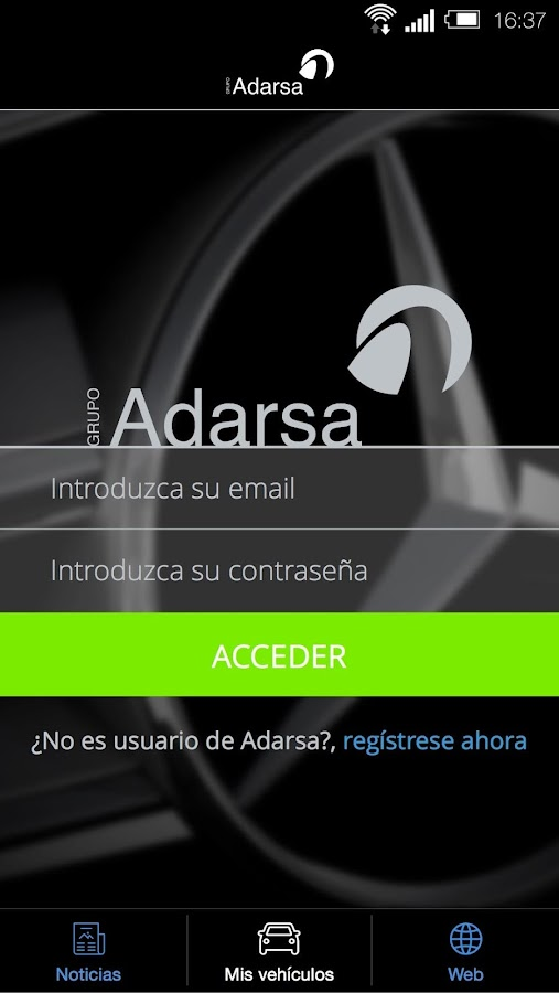 Grupo ADARSA- screenshot