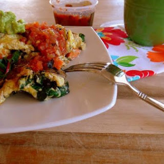Turkey Sausage, Chard & Sweet Potato Breakfast Scramble