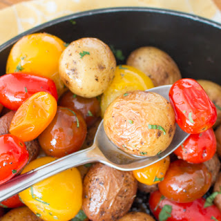 Herbs de Provence Baby Potatoes and Tomatoes