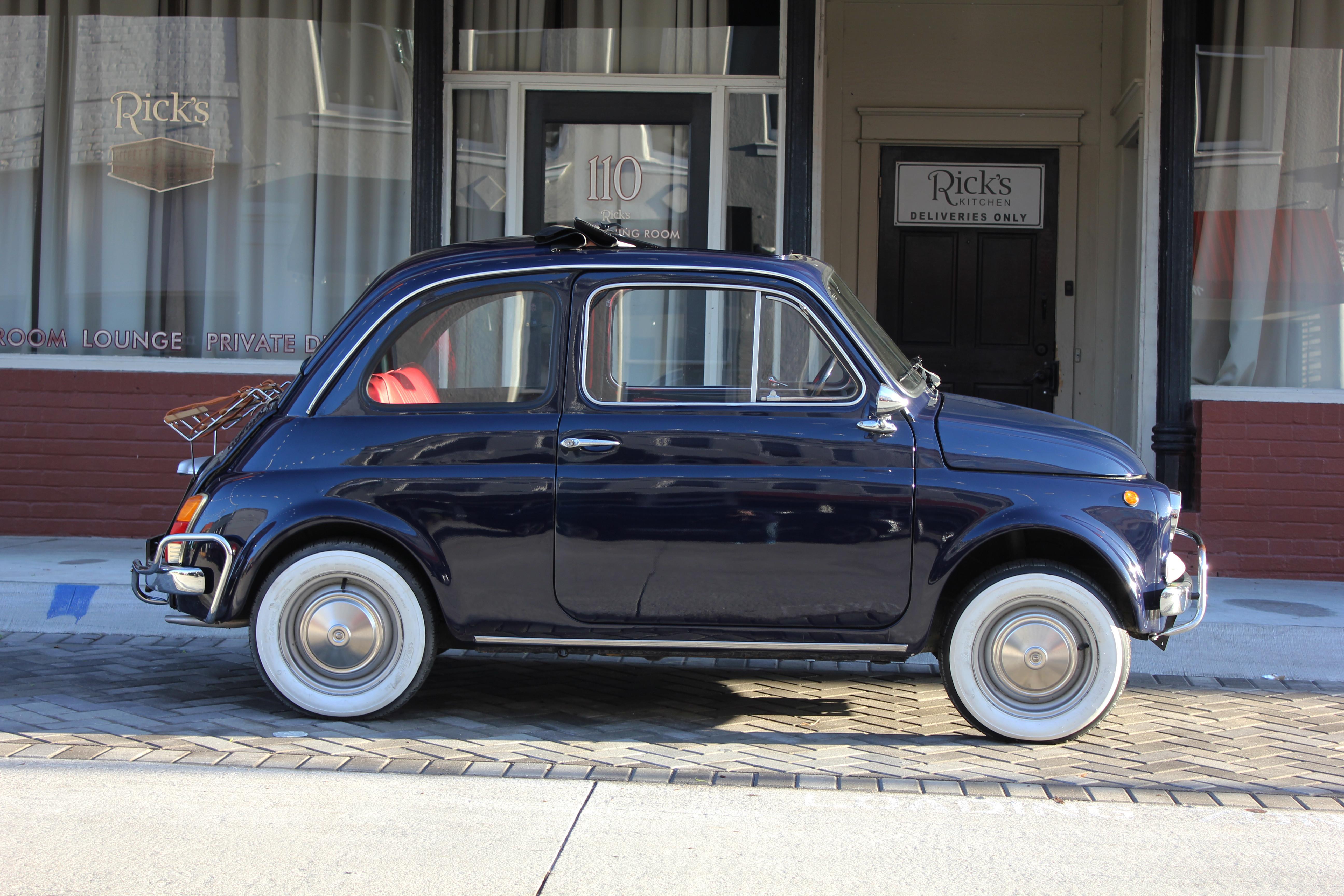 Fiat 500 Hire Plano