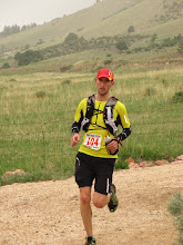 Photo: 5th place finisher Dave Riddle at mile 40.
