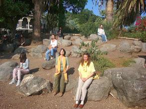 Photo: Meditazione sul Monte delle Beatitudini  - Meditation at Mount of Beatitudes