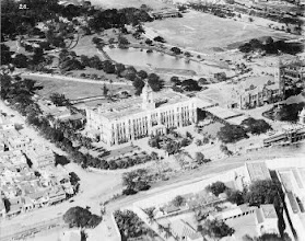 Photo: Bird's eye view of old Madras. Ripon building,Victoria hall and part of Moore market.